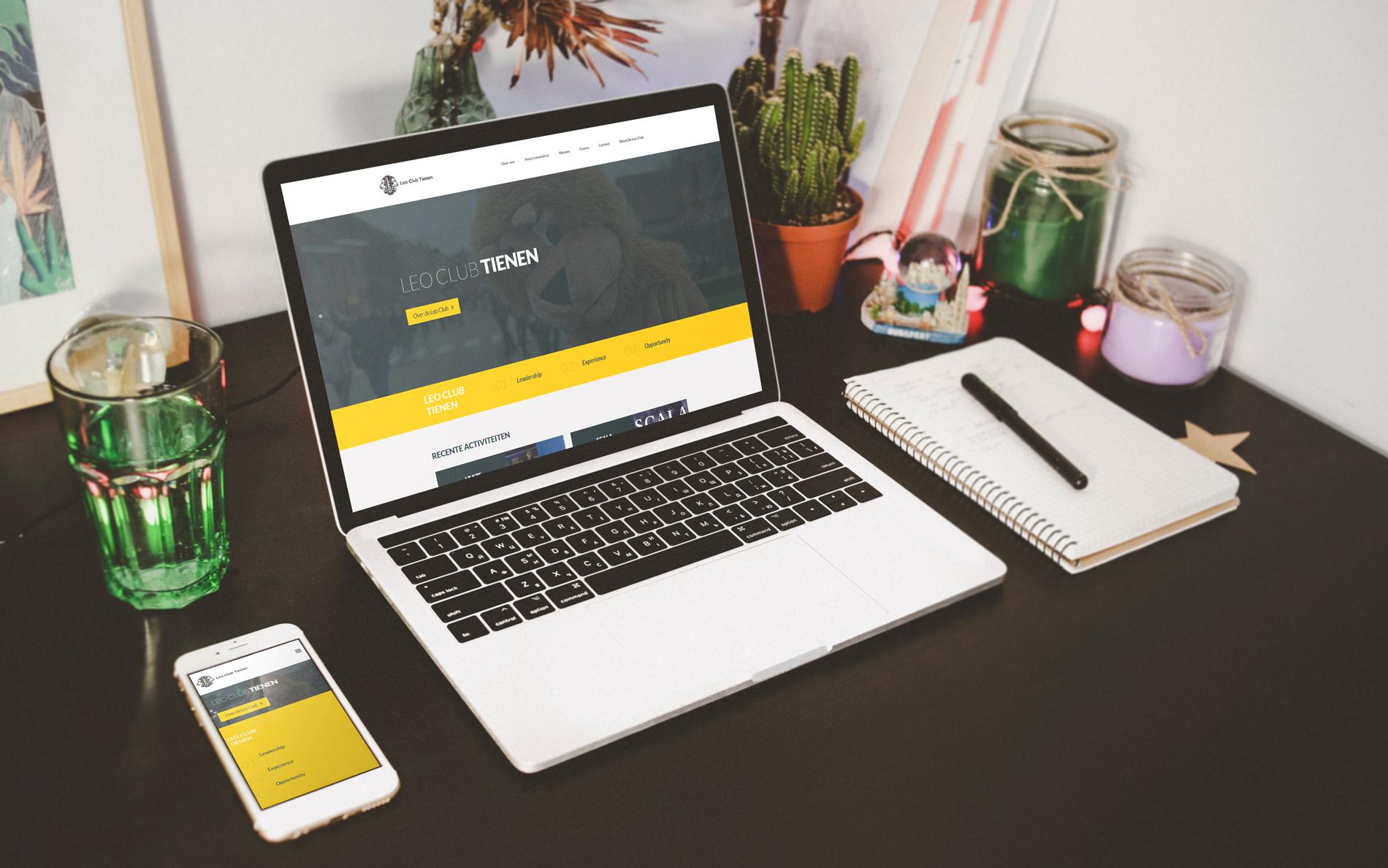 Nieuwe website voor de Leo Club Tienen